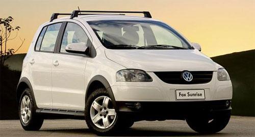 Fox Sunrise 2010 – foto e detalhes sobre o novo modelo do VW Fox