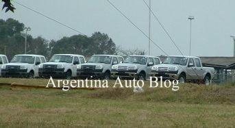 Nova Ford Ranger 2010 flagrada na Argentina – no Brasil em 2010?