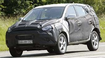 Hyundai ix35 (ou nova Tucson) no Brasil em 2011