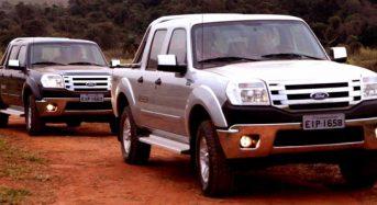 Nova Ford Ranger 2010 no Brasil – preços e versões divulgados