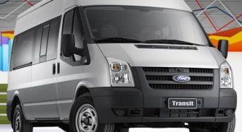 Furgão Ford Transit – foto, preço, detalhes – van de 14 lugares