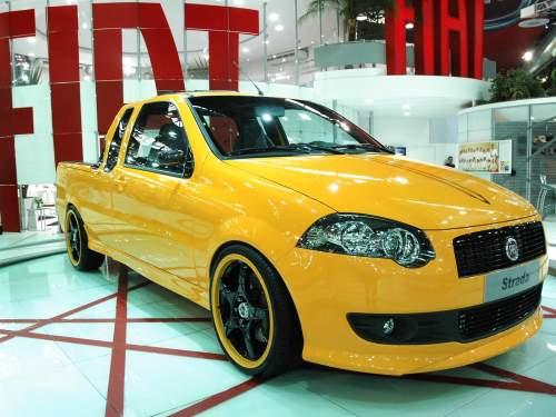 Nova picape Fiat Strada Sporting 1.4 Flex 2010