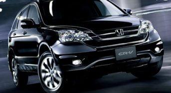 Novo Honda CR-V 2010 passa por facelift no Japão