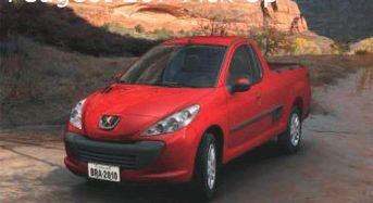 Peugeot 207 Pickup em novembro de 2009?