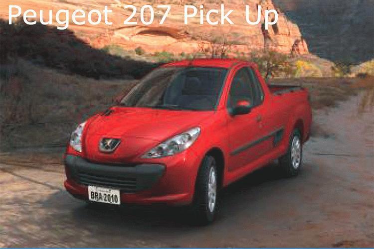 peugeot 207 pickup