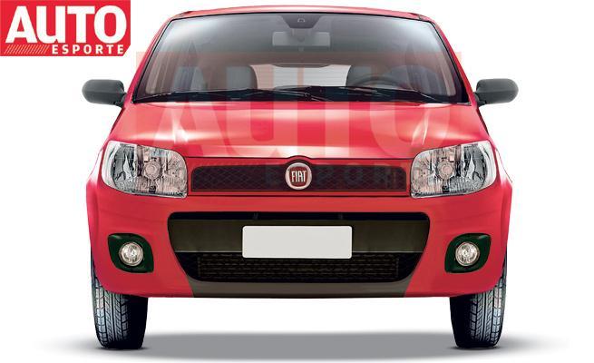 Revista Auto Esporte divulga fotos e imagens do novo Fiat Uno Mille 2011