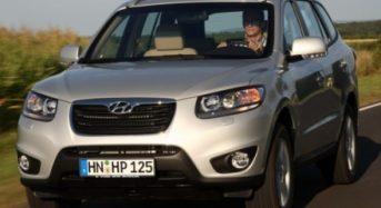 Novo Hyundai Santa Fe 2010 revelado no Salão de Frankfurt