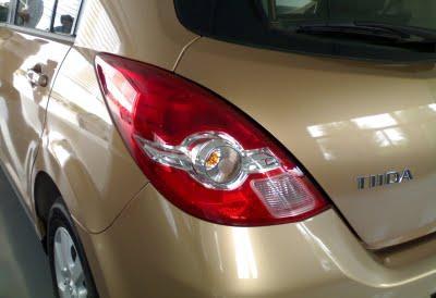 Fotos do Novo Nissan Tiida 2010 remodelado