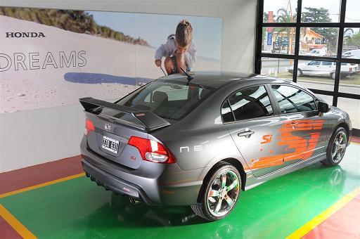 Kit tuning para Honda Civic Si na Argentina