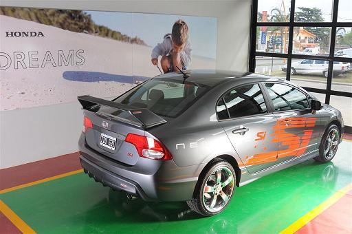 Honda Civic Si Tunado Carro Bonito