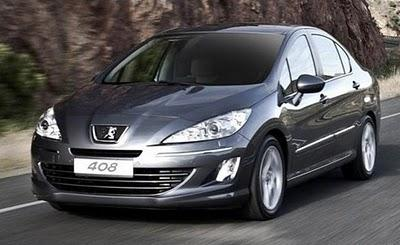 Peugeot 408 (futuro 308) lançado na China