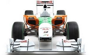 Carro da Force India VJMO3 – Fórmula 1 2010