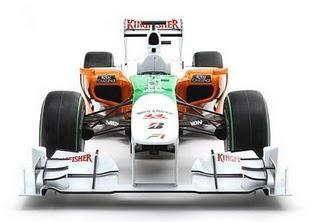 Carro da Force India VJMO3 – Fórmula 1 2010