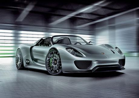Novo Porsche 918 Spyder 2010