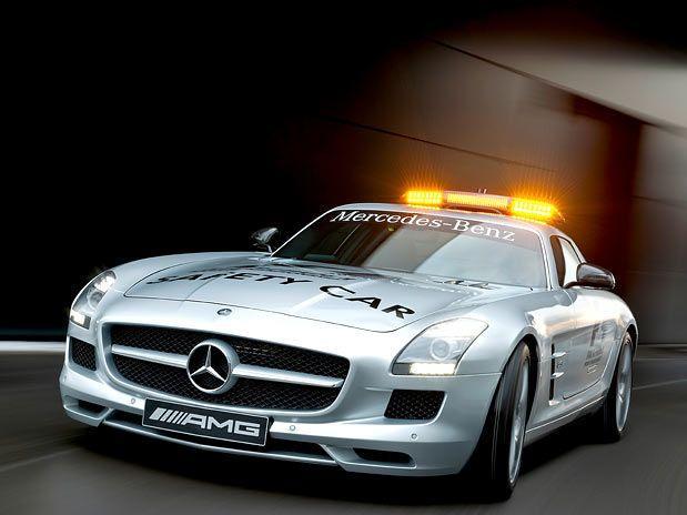 Novo Safety Car F-1 2010 –  Mercedes-Benz SLS AMG