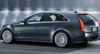 Novo Cadillac CTS-V Sport Wagon 2011