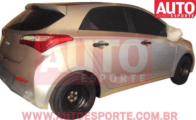 Hyundai HB flagrado pela Auto Esporte