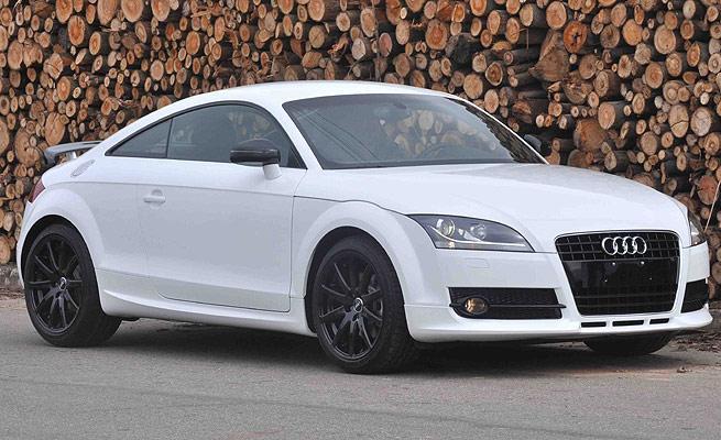 Audi TT White chega ao Brasil