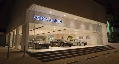 Aston Martin abre Loja no Brasil – São Paulo (SP)