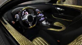 Mansory Bugatti Veyron Linea Vincero d'Oro – Carro com Detalhes em Ouro