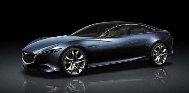 Mazda Shinari – Novo Carro Conceito de Luxo