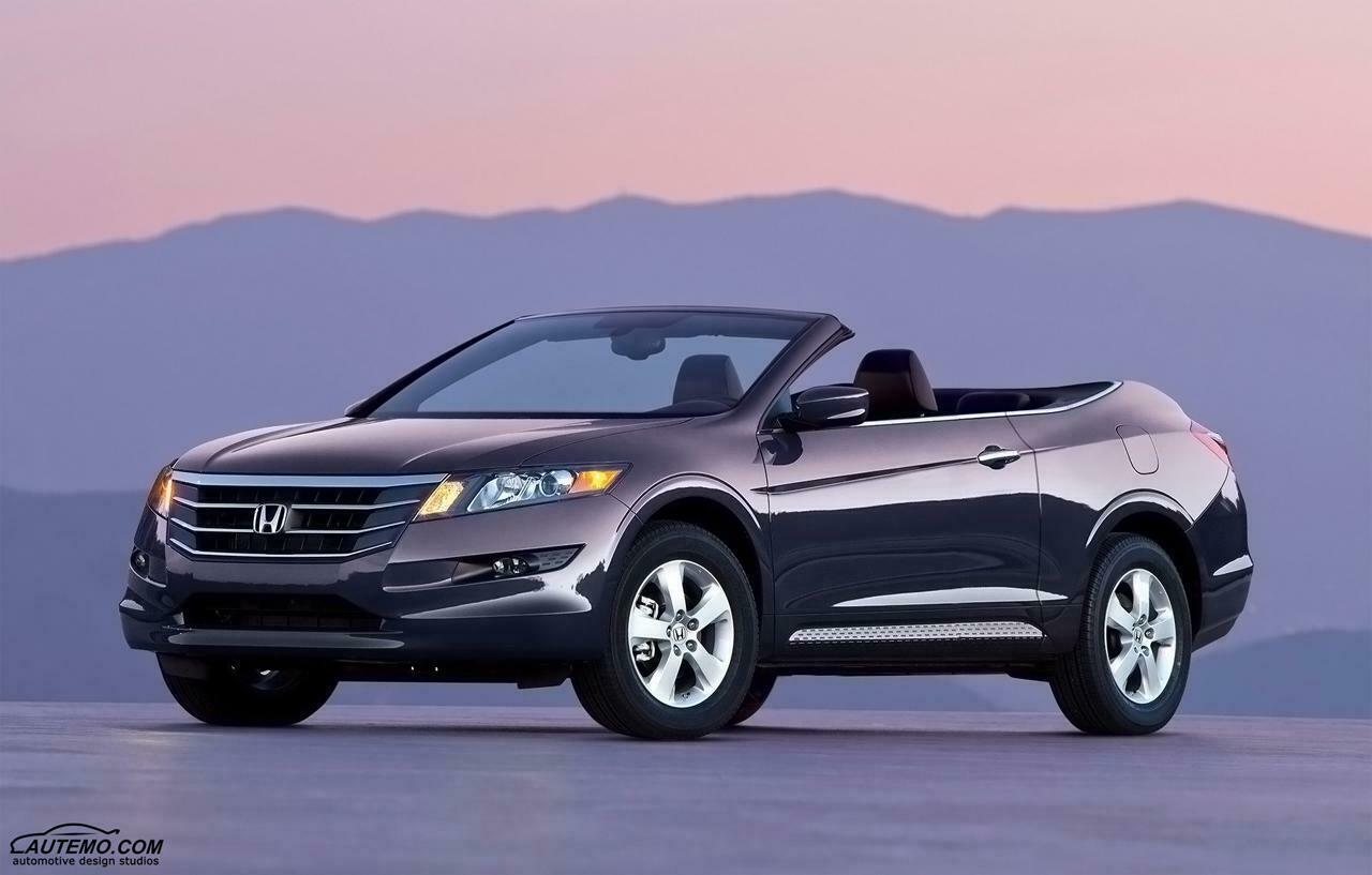 Honda Accord Crosstour pode ganhar Versão Conversível