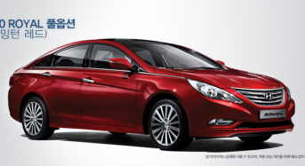 Hyundai Sonata 2012 ganha Modificações na Coreia do Sul