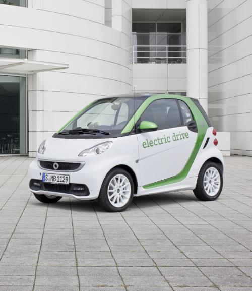 Novo Smart Fortwo Elétrico – Lançamento