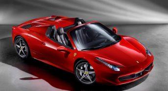 Ferrari 458 Spider Conversível – Primeiras Imagens