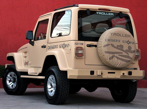 Troller T4 Desert Storm – Edição Especial