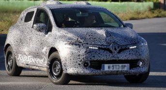 Renault Clio – Quarta geração do modelo flagrado na Europa