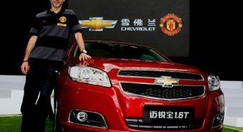Chevrolet é nova patrocinadora do Manchester United