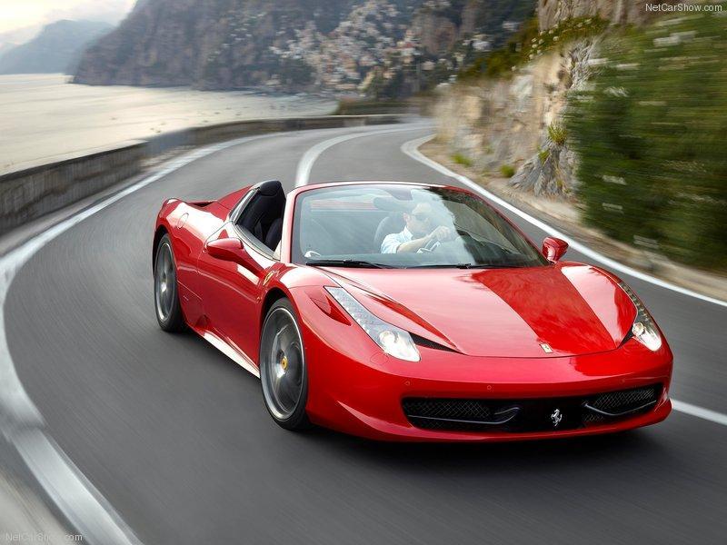 6d285eb6246 Ferrari 458 Spider – Reservas podem ser feitas no Brasil