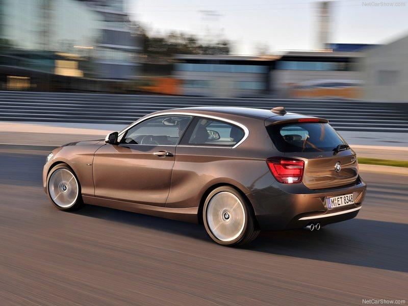 BMW Série 1 2013 – Versão com três portas
