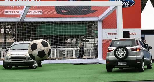 Ford Novo EcoSport 2013 – Lançamento com Robinho e Marcos em São Paulo