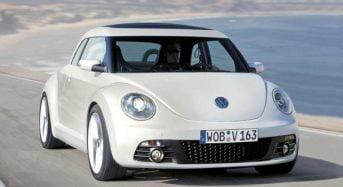 Volkswagen Beetle terá versão conversível no final de 2012 nos EUA