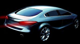 Novo Kia Cerato 2013 – Primeiros desenhos do modelo são divulgados