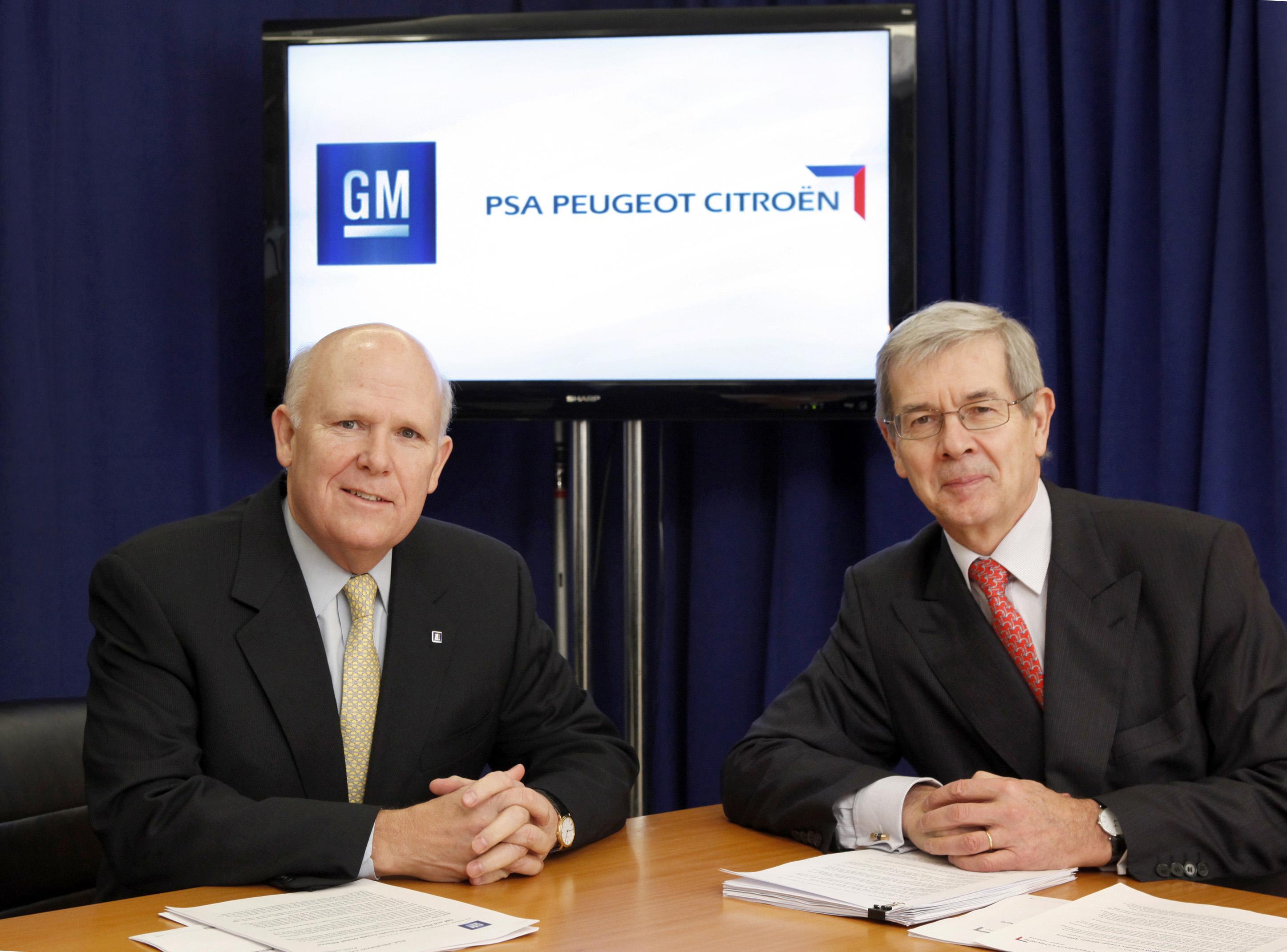 GM e PSA Peugeot Citroën firmam aliança global para ações na Europa
