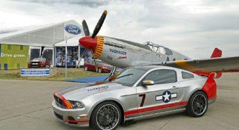 Mustang lança carro inspirado em avião da Segunda Guerra Mundial P-51