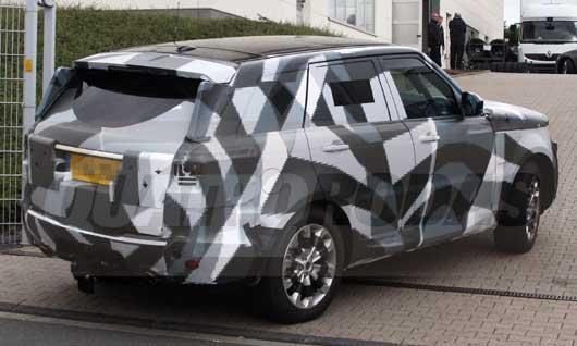 Volvo Range Rover Sport 2013 – Modelo é flagrado em testes na Europa