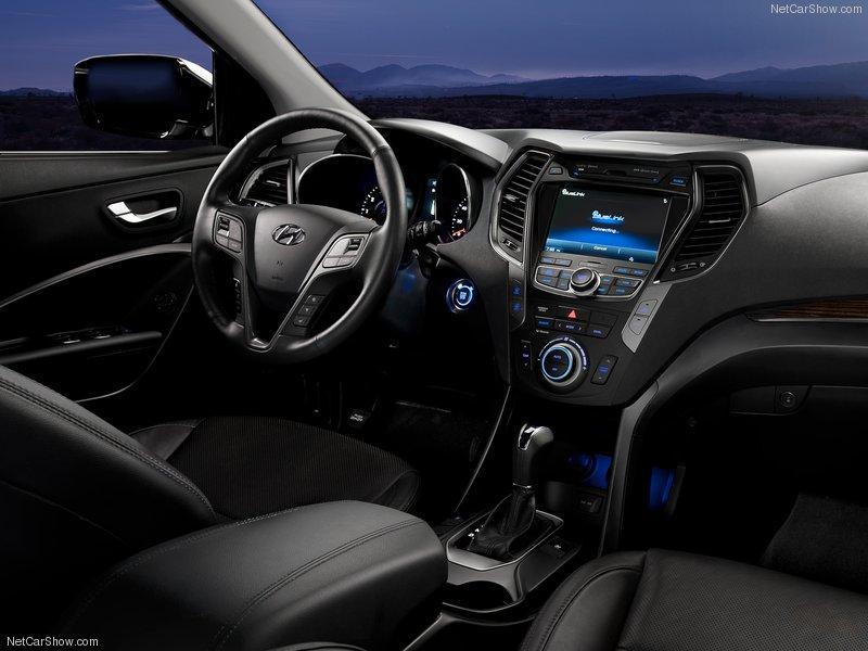 santa 2 Nova Hyundai Santa Fé Sport 2013   SUV será vendida no Brasil em 2013   Novidades