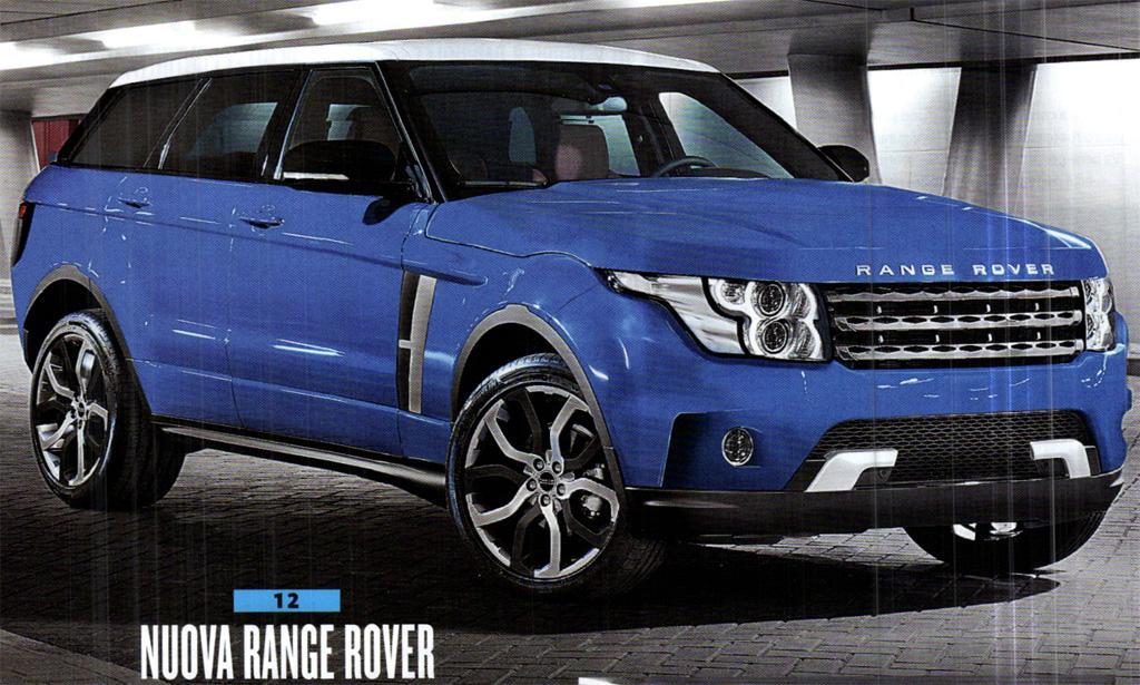 'Nova Range Rover Vogue 2013' – Lançamento no Salão de Paris – Fotos