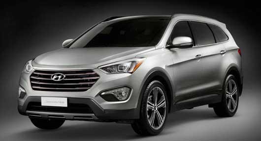 'Hyundai Santa Fe 2013' – Modelo ganha versão de sete lugares e design Storm Edge