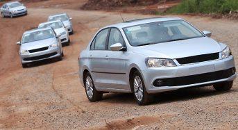 Volkswagen 'Novo Santana' – Fotos do modelo vazam na China