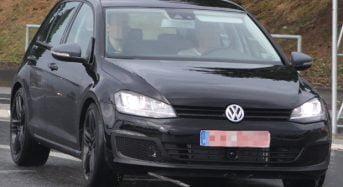 Novo Volkswagen Golf R – Divulgadas fotos sem camuflagem do modelo