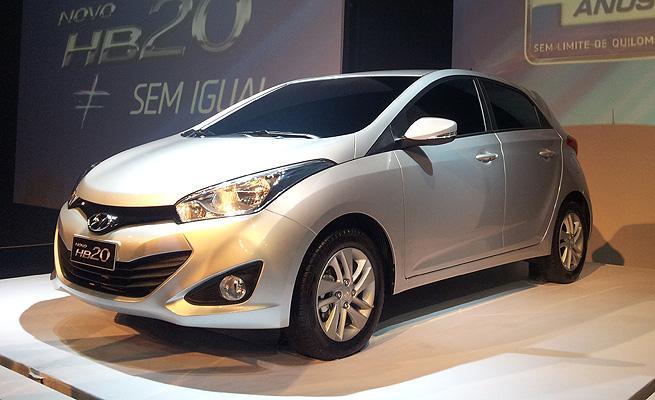 Novo Hyundai HB20.