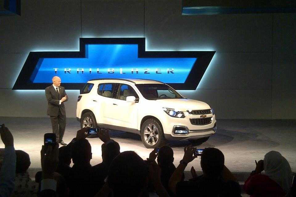 Chevrolet Trailblazer 2013.