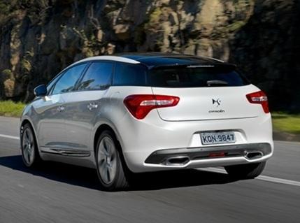 Novo Citroën DS5 – Começam as vendas do modelo no Brasil – Preço a partir de R$ 124 mil