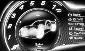 Chevrolet divulga teaser do novo Corvette.