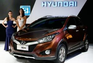 Novo Hyundai HB20X será lançado no Brasil.